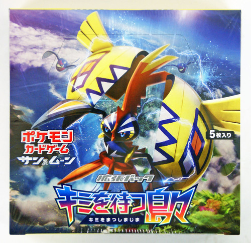 Pokemon Card Game Sun & Moon Kimi wo Matsu Shimajima Booster Pack BOX
