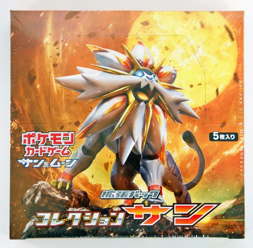 Pokemon Card Game SM1S Sun & Moon Collection SUN Booster Pack BOX (In-Stock)