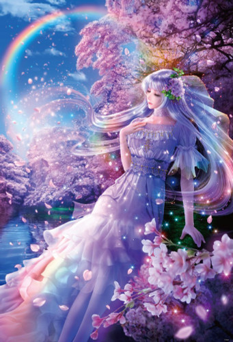 Beverly Jigsaw Puzzle 81-111 Fantasy Art Dream Of Spring (1000 Pieces)