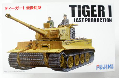 Fujimi SWA05 Tiger I Final Type PzAbt.301 1/76 scale kit