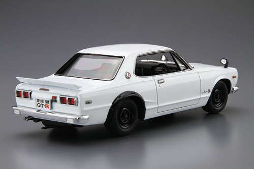 Aoshima 52327 The Model Car 26 NISSAN KPGC10 Skyline HT2000GT-R '71 1/24 scale kit