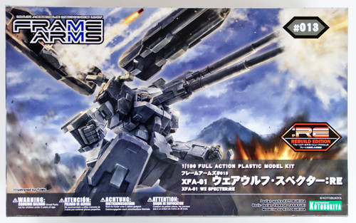 Kotobukiya 108770 Frame Arms FA067 XFA-01 Werewolf Specter RE 1/100 Scale Kit
