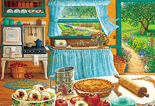 APPLEONE Jigsaw Puzzle 300-324 Janet Kruskamp Mother's Apple Pie (300 Pieces)