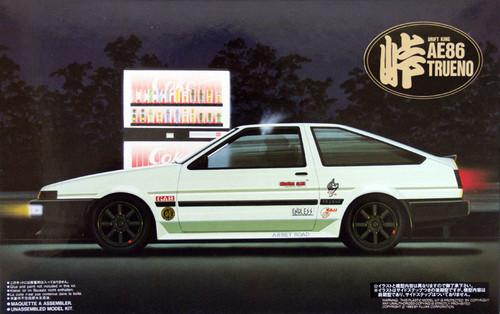 Fujimi TOHGE-03 Toyota AE86 Trueno Drift King 1/24 Scale Kit