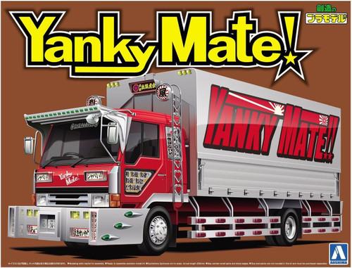 Aoshima 52839 Japanese Decoration Truck Yanky Mate 1/32 Scale kit