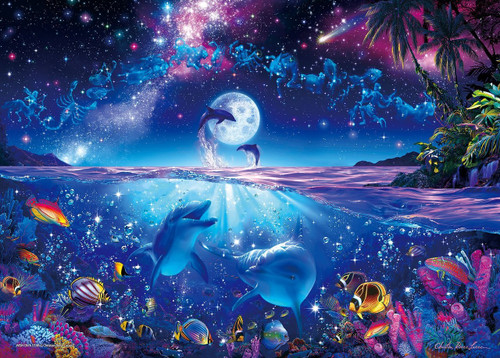 Epoch Jigsaw Puzzle 54-702 Lassen Wish Upon A Star (2000 S-Pieces)
