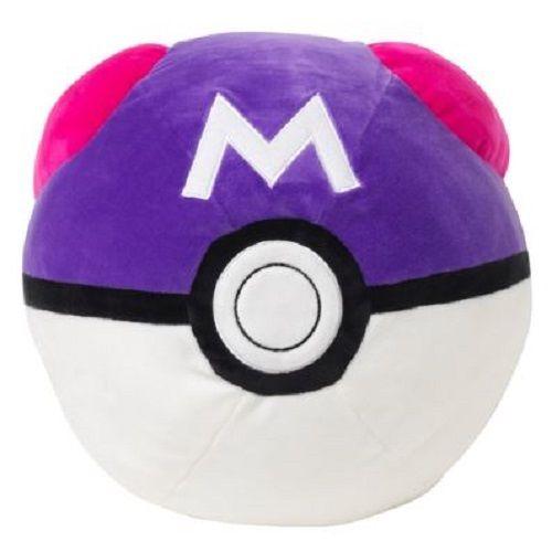 Pokemon Center Original Mochi Mochi Cushion Master Ball 207322