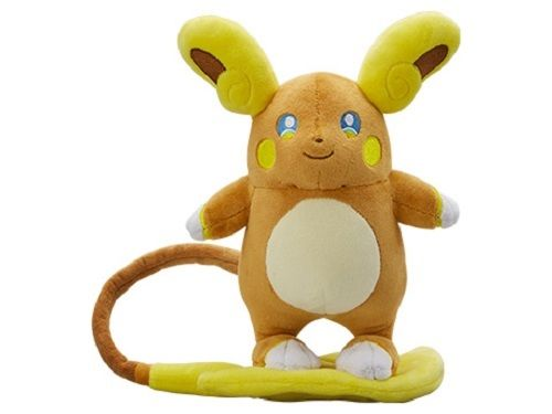 Pokemon Center Original Plush Doll Alola Raichu 204246