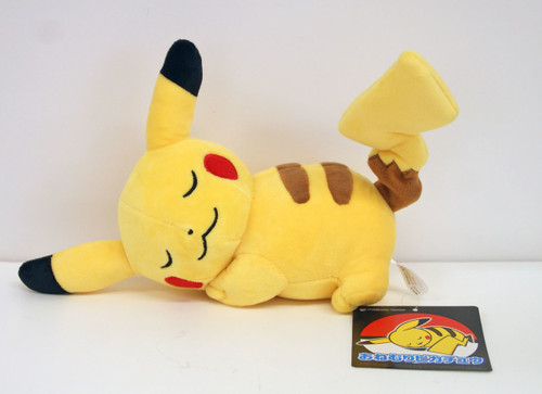 Pokemon Center Original Plush Doll Sleeping Pikachu 203171