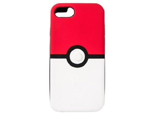 Pokemon Center Original Silicone iPhone 6 / 6s Case Cover Monster Ball 204062