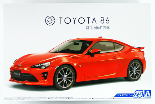 Aoshima 51801 The Model Car 25 TOYOTA ZN6 TOYOTA86 '16 1/24 scale kit