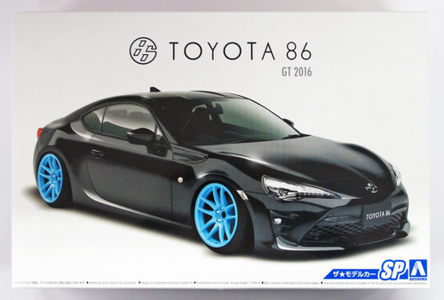 Aoshima 51795 The Model Car SP TOYOTA ZN6 TOYOTA86 '16 Custom Wheel 1/24 scale kit