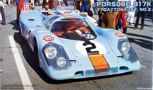 Fujimi HR9 Porsche 917K 1971 Daytona Winner 1/24 Scale Kit