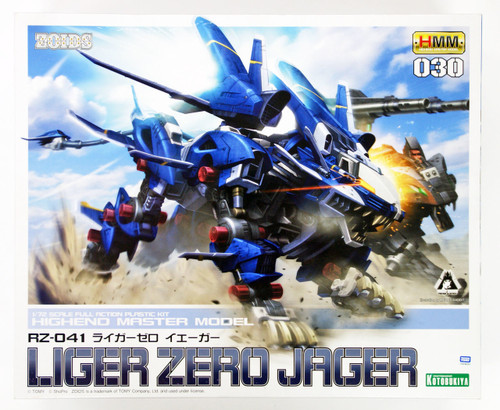 Kotobukiya ZD061 Zoids RZ-041 Liger Zero Jager 1/72 Scale Kit