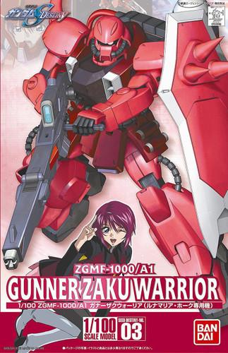Bandai 339164 HG Gundam Seed Destiny ZGMF-1000/A1 Gunner Zaku Warrior 1/100 Scale Kit