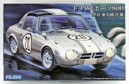 Fujimi ID-252 Toyota Sports S800 Ukiya Tojiro Model 1/24 scale kit