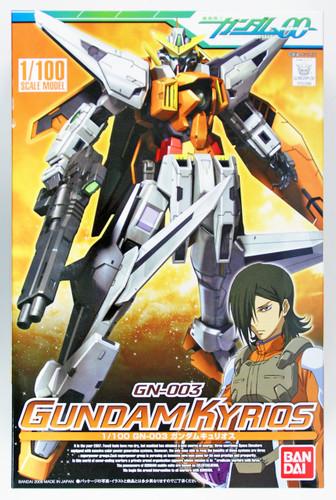 Bandai GUNDAM OO 523686 GN-003 GUNDAM KYRIOS 1/100 Scale Kit