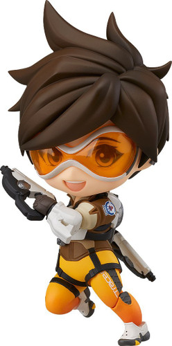 Good Smile Overwatch Nendoroid 730 Tracer Classic Skin Edition
