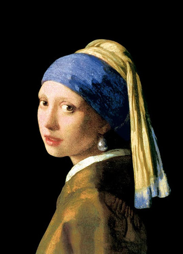 Epoch Jigsaw Puzzle 54-010 World Art Johannes Vermeer Girl with a Pearl Earring (2000 S-Pieces)
