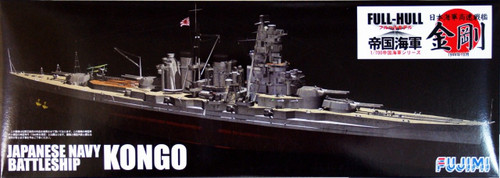 Fujimi FH-06 IJN BattleShip Kongo Full Hull Model 1/700 Scale Kit