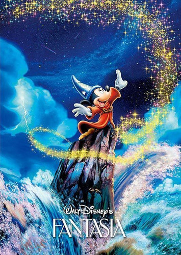 Tenyo Japan Jigsaw Puzzle D-300-288 Disney Fantasia Mickey (300 Pieces)