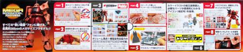Bandai GUNDAM MEGA Size Model ZAKU II 1/48 scale kit