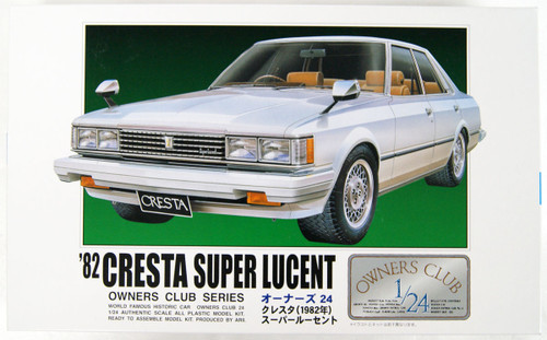 Arii Owners Club 1/24 17 1982 Cresta Super Lucent 1/24 scale kit (Microace)