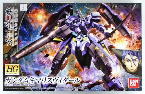 Bandai Iron-Blooded Orphans 035 Gundam KIMARIS VIDAR 1/144 scale kit