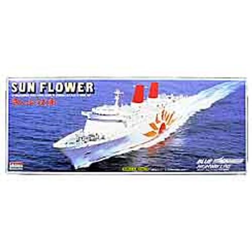 Arii 131015 Sun Flower Ferry Eleven (Sunflower) 1/700 Scale Kit (Microace)
