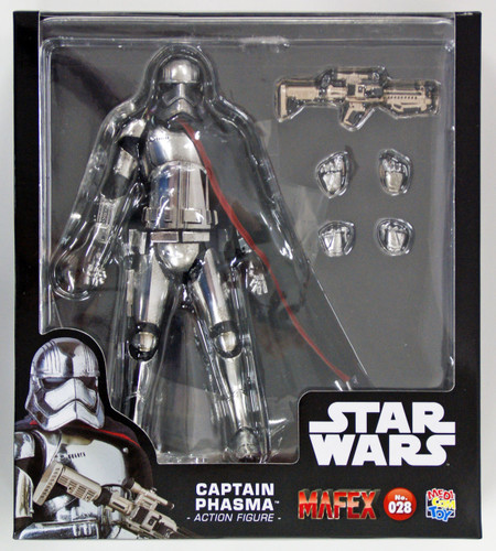 Medicom MAFEX 028 Star Wars The Force Awakens Captain Phasma Action Figure