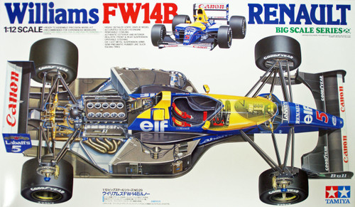 Tamiya 12029 Williams FW14B Renault 1/12 Scale Kit