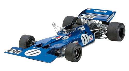 Tamiya 12054 Tyrrell 003 1971 Monaco GP with Photo Etched Parts 1/12 Scale Kit
