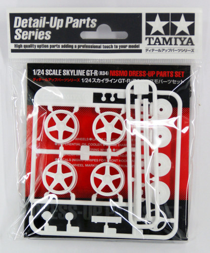 Tamiya 12608 Skyline GT-R (R34) NISMO Dress-Up Parts Set 1/24 Scale Kit