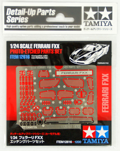 Tamiya 12616 Ferrari FXX Photo-Etched Parts Set 1/24 Scale Kit
