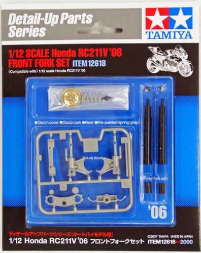 Tamiya 12618 Honda RC211V'06 Front Fork Set 1/12 Scale Kit