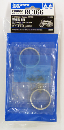 Tamiya 12631 Honda RC166 Wheel Set 1/12 Scale Kit