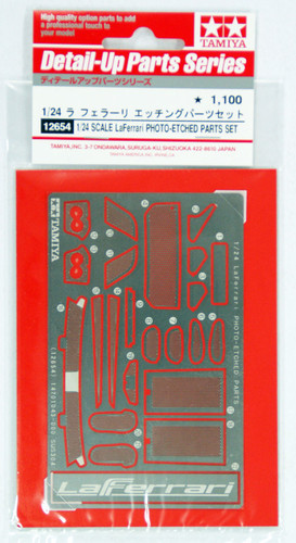 Tamiya 12654 LaFerrari Photo Etched Parts 1/24 Scale Kit