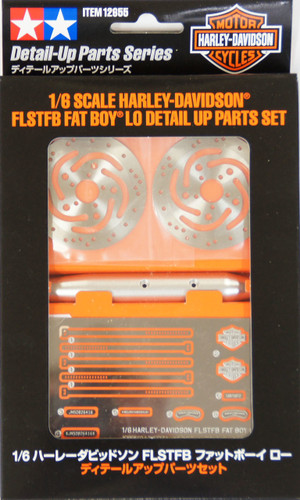 Tamiya 12655 FLSTB Fat Boy Lo Detail Up Parts Set 1/6 Scale Kit