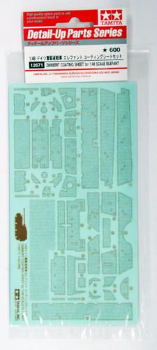 Tamiya 12671 Zimmerit Coating Sheet for German Tank Elefant 1/48 Scale Kit