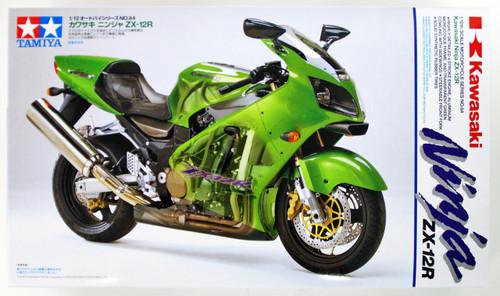 Tamiya 14084 Kawasaki Ninja ZX-12R 1/12 Scale Kit