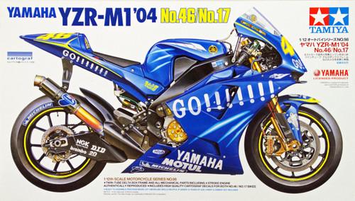 Tamiya 14098 Yamaha YZR-M1 '04 No.46/No.17 1/12 Scale Kit