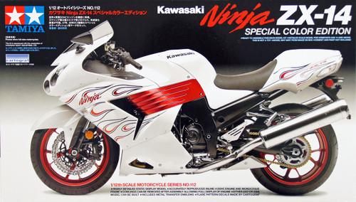 Tamiya 14112 Kawasaki Ninja ZX-14 Special Color Edition 1/12 Scale Kit
