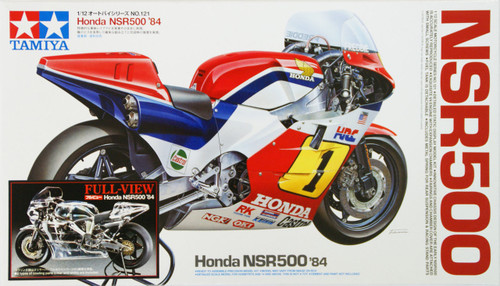 Tamiya 14126 Honda NSR500 1984 Full View 1/12 Scale Kit