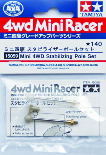 Tamiya 15059 Mini 4WD Stabilizing Pole Set