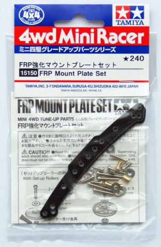 Tamiya 15150 Mini 4WD FRP Mount Plate Set