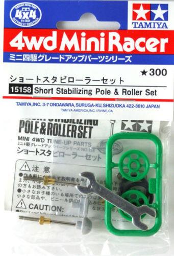 Tamiya 15158 Mini 4WD Short Stabilizing Pole & Roller