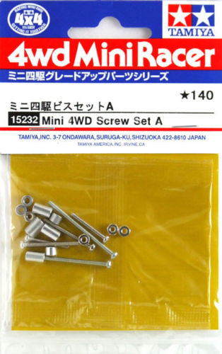 Tamiya 15232 Mini 4WD Screw Set A