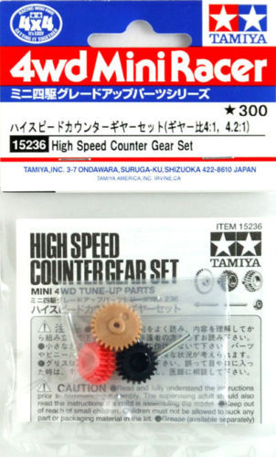 Tamiya 15236 Mini 4WD High Speed Counter Gear Set