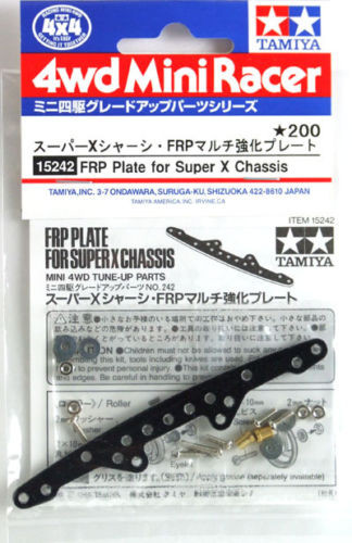 Tamiya 15242 Mini 4WD FRP Plate for Super X Chassis
