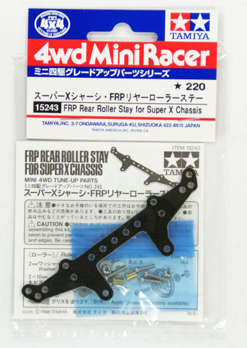 Tamiya 15243 Mini 4WD FRP Rear Roller Stay for Super X Chassis